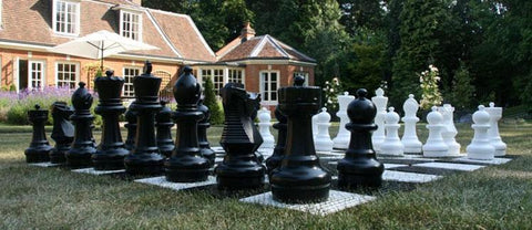 Garden Plastic Chess Board - LawnGames
