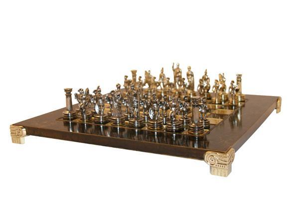 Uber Games Greek Roman Chess Set