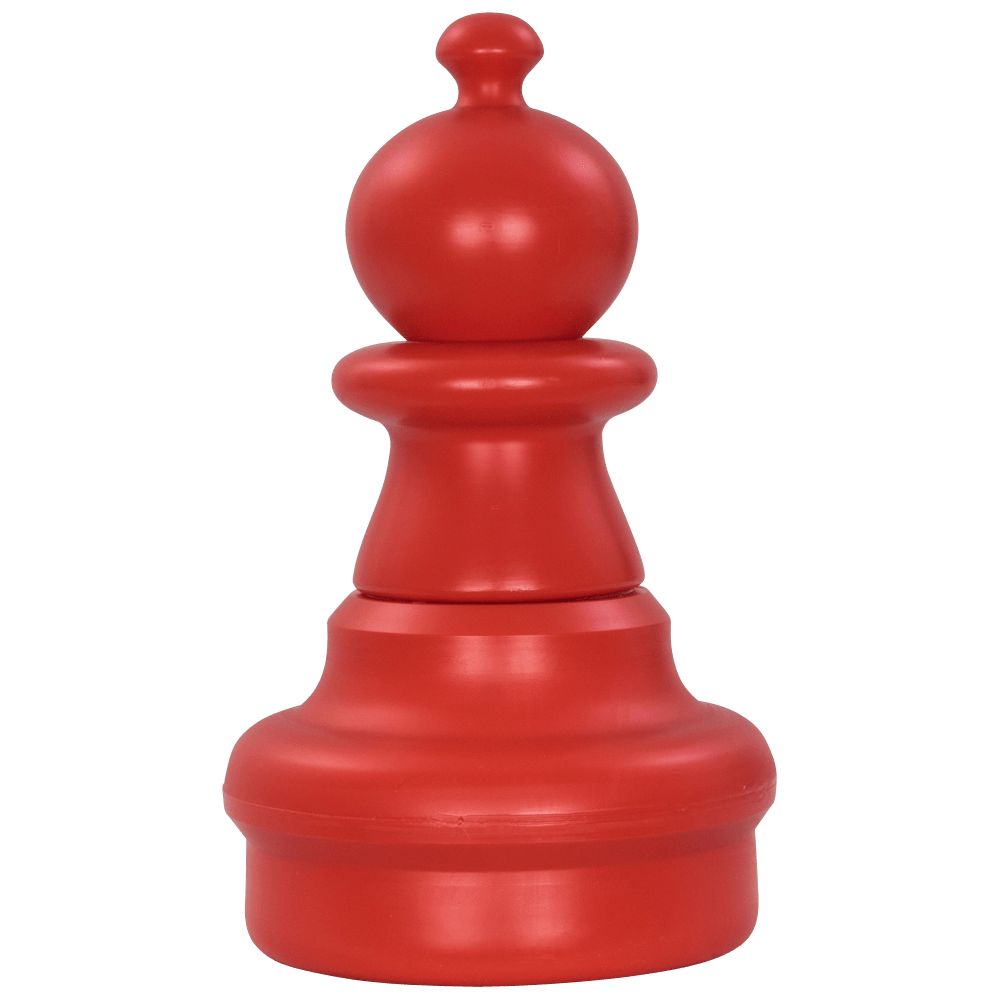 MegaChess 16 Inch Red Plastic Pawn Giant Chess Piece
