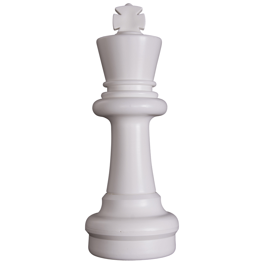 MegaChess 25 Inch Light Plastic King Giant Chess Piece