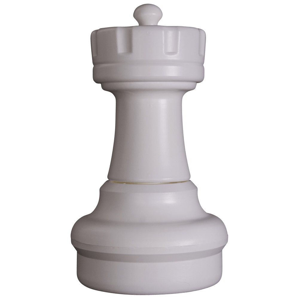 MegaChess 17 Inch Light Plastic Rook Giant Chess Piece
