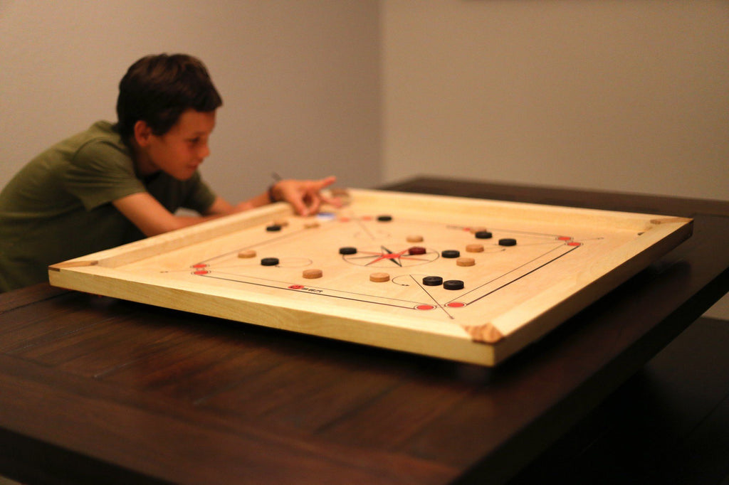 Uber Games Entry Level Carrom Board