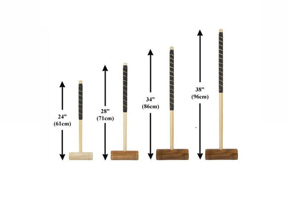 "Single 24"" Family Croquet Mallet"