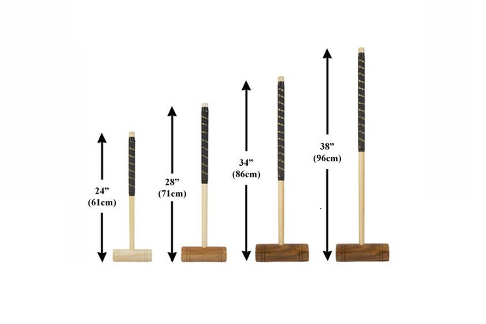 "Single 28"" Family Croquet Mallet"
