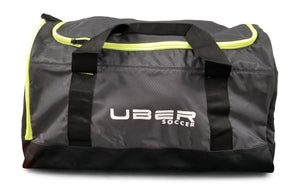 Uber Soccer Players Bag - Medium - Black and Green - LawnGames
