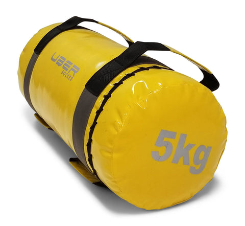 Uber Soccer Strength Training Bag - 5 KG - Yellow - LawnGames