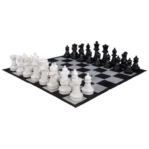 MegaChess 25 Inch Giant Plastic Chess Set - Rental
