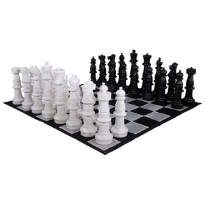 MegaChess 37 Inch Giant Plastic Chess Set - Rental - LawnGames