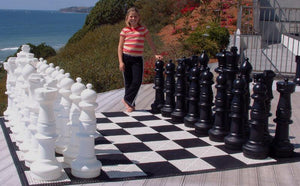 MegaChess 37 Inch Plastic Giant Chess Set - LawnGames