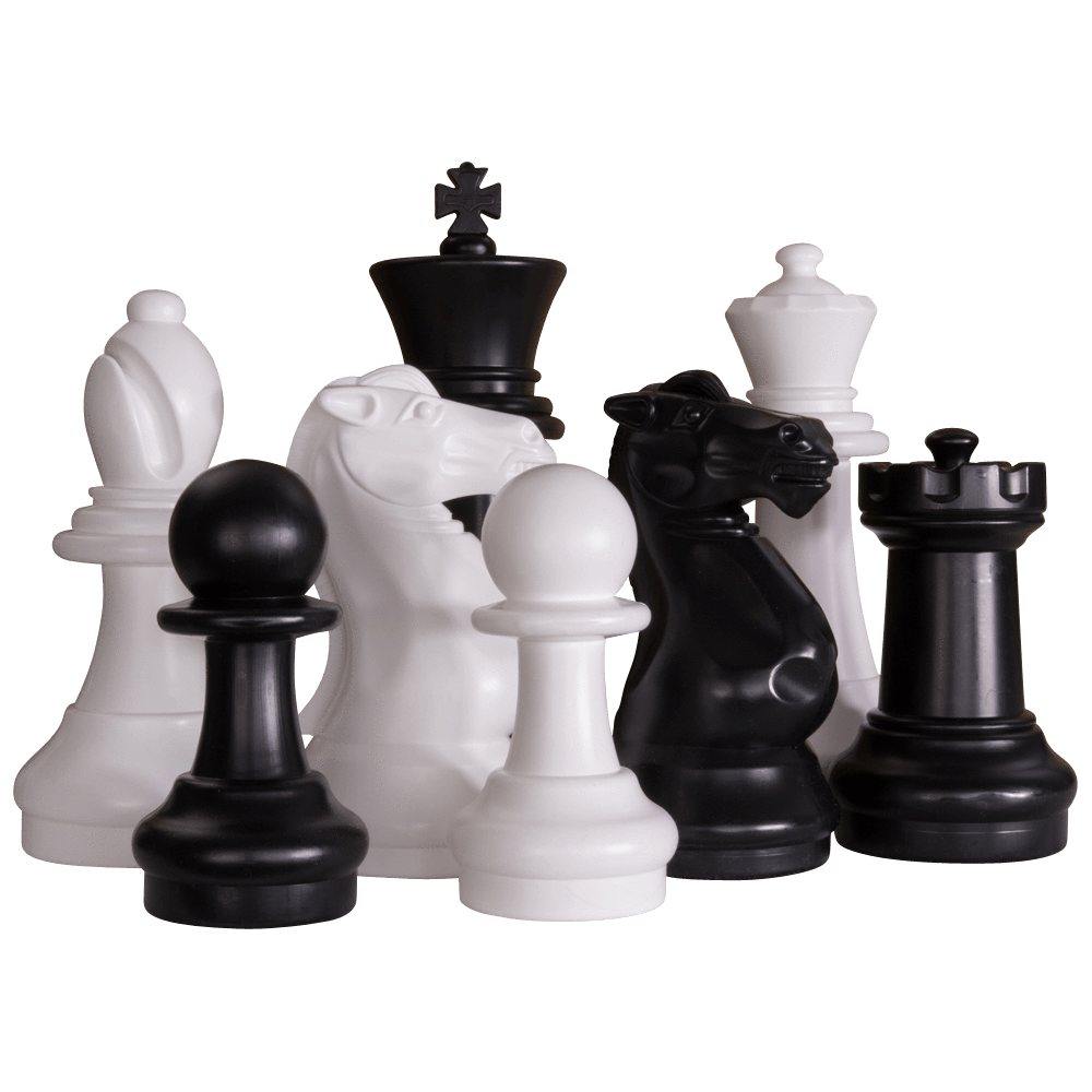 "16"" Plastic Giant Chess Set"