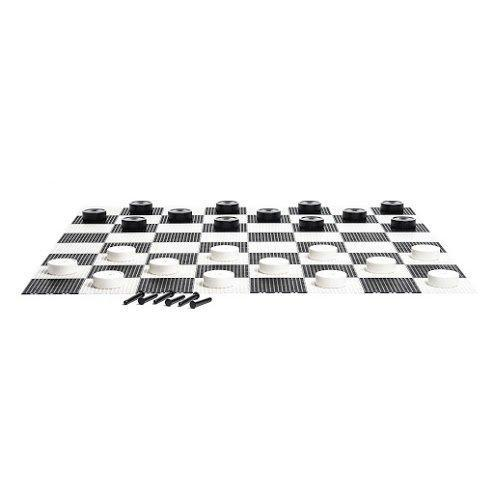 MegaChess 10 Inch Plastic Giant Checkers |  | GiantChessUSA