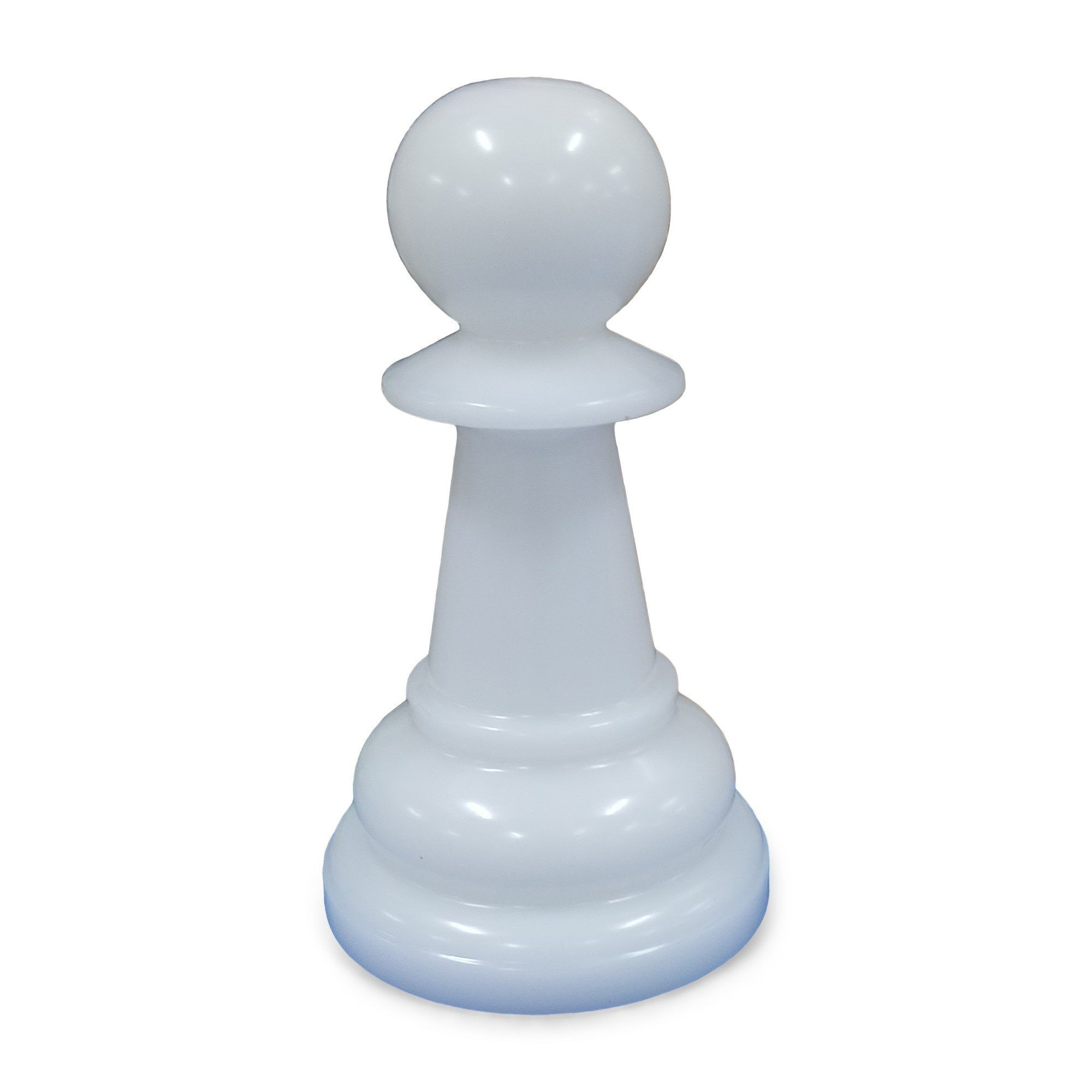 MegaChess 12 Inch White Premium Plastic Pawn Giant Chess Piece |  | GiantChessUSA