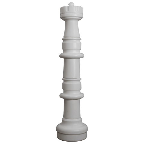 MegaChess 41 Inch Light Plastic Rook Giant Chess Piece |  | GiantChessUSA