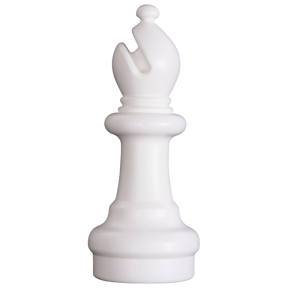 MegaChess 10 Inch Light Plastic Bishop Giant Chess Piece |  | GiantChessUSA