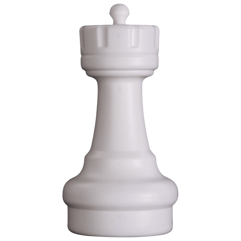 MegaChess 9 Inch Light Plastic Rook Giant Chess Piece |  | GiantChessUSA