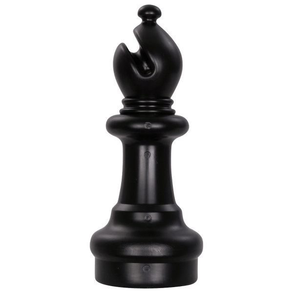 MegaChess 10 Inch Dark Plastic Bishop Giant Chess Piece |  | GiantChessUSA
