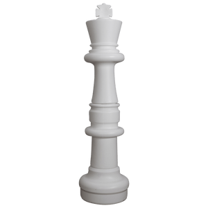 MegaChess 37 Inch Light Plastic King Giant Chess Piece |  | GiantChessUSA