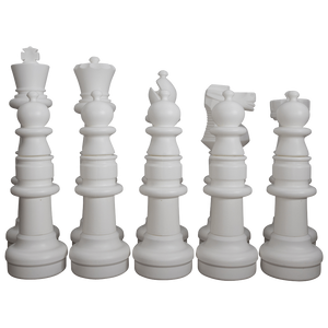 "MegaChess 37"" Chess Set - White Side Only 