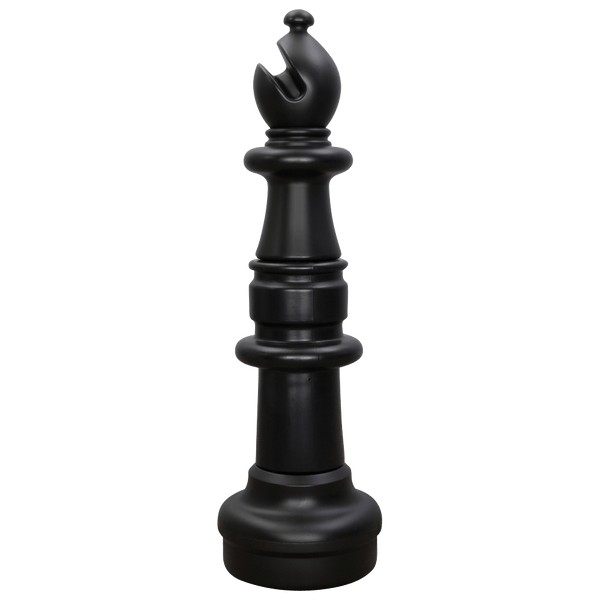 MegaChess 33 Inch Dark Plastic Bishop Giant Chess Piece |  | GiantChessUSA