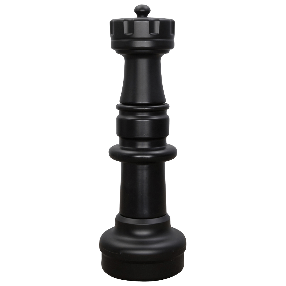 MegaChess 29 Inch Dark Plastic Rook Giant Chess Piece |  | GiantChessUSA