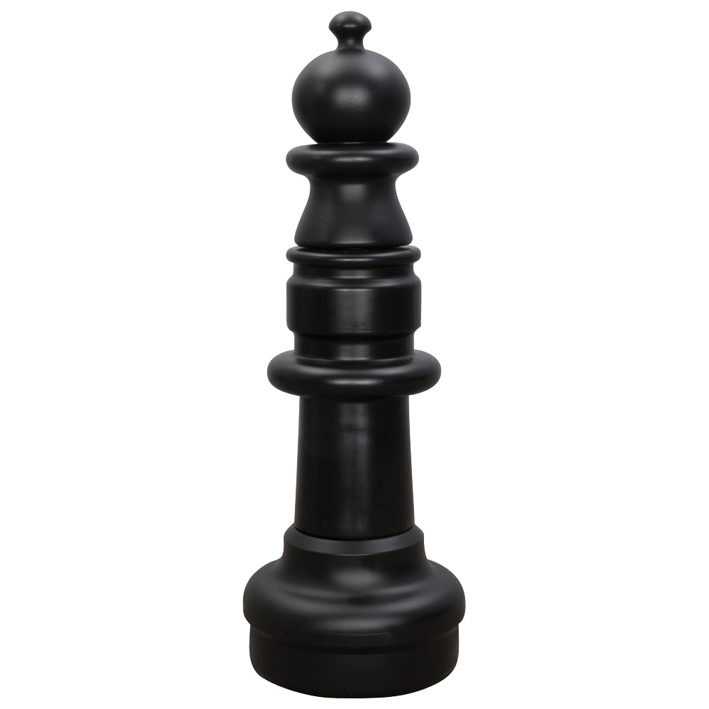 MegaChess 28 Inch Dark Plastic Pawn Giant Chess Piece |  | GiantChessUSA