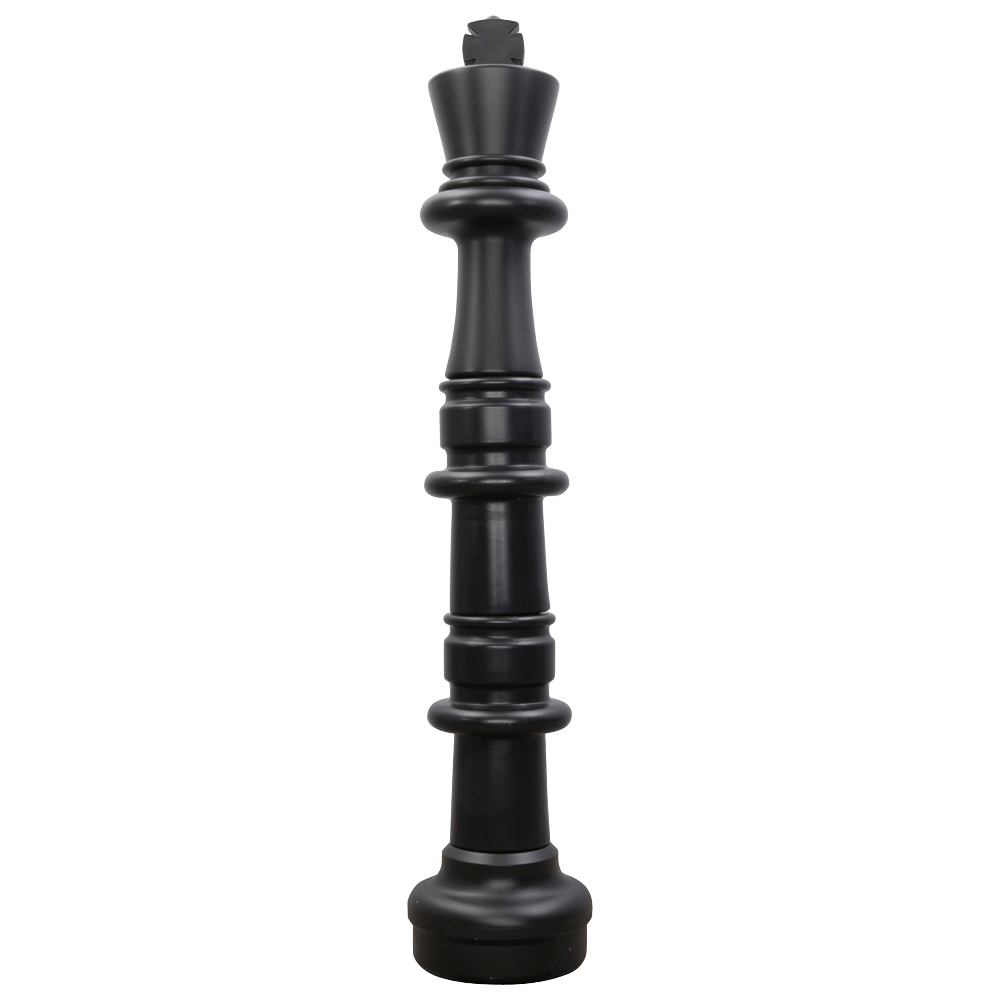 MegaChess 49 Inch Dark Plastic King Giant Chess Piece |  | GiantChessUSA