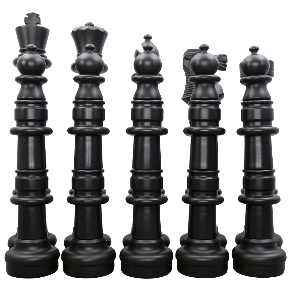 "MegaChess 49"" Chess Set - Black Side Only 