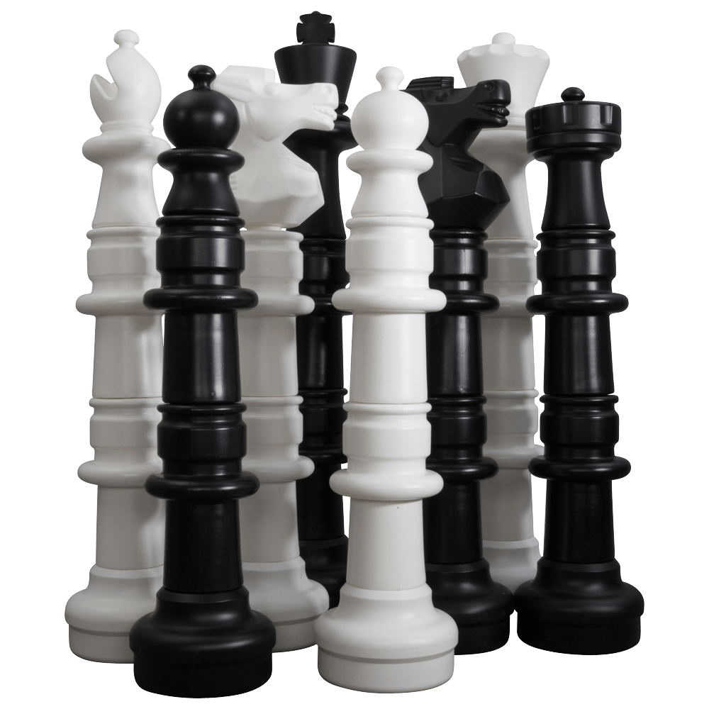 MegaChess 49 Inch Giant Plastic Chess Set - Rental |  | GiantChessUSA