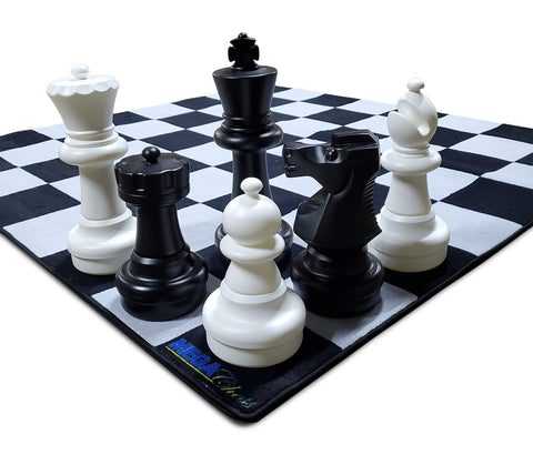 MegaChess Nylon Carpet Giant Chessboard with 12 Inch Squares |  | GiantChessUSA