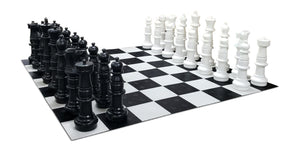 MegaChess 37 Inch Plastic Giant Chess Set with Plastic Board | Default Title | GiantChessUSA