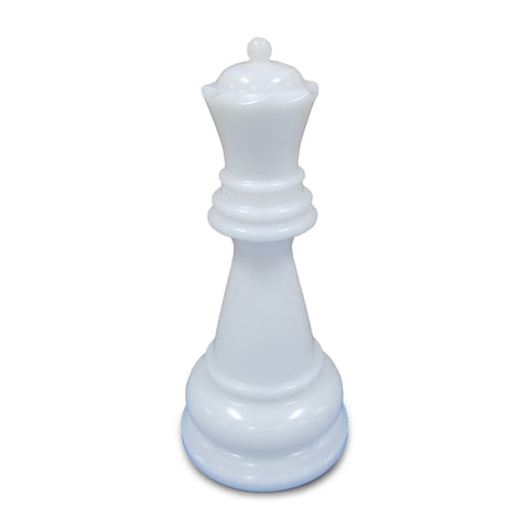 MegaChess 22 Inch White Premium Plastic Queen Giant Chess Piece |  | GiantChessUSA
