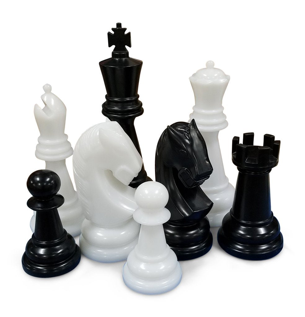 Personalized MegaChess 26 Inch Perfect Giant Chess Set |  | GiantChessUSA