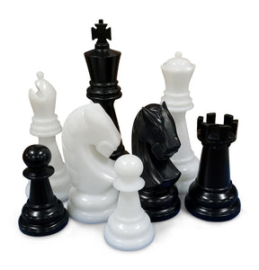 Personalized MegaChess 48 Inch Perfect Giant Chess Set |  | GiantChessUSA
