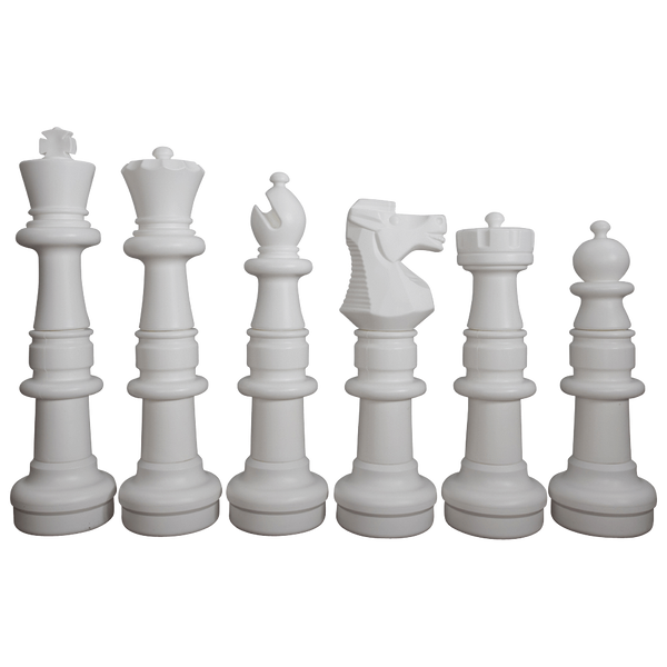 MegaChess 37 Inch Plastic Giant Chess Set with Plastic Board |  | GiantChessUSA