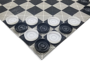 The Perfect Giant Checker Set | 14 Inches Wide | MegaChess | Default Title | GiantChessUSA