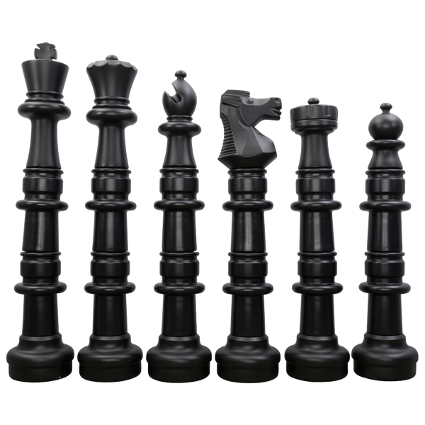 MegaChess 49 Inch Plastic Giant Chess Set with Plastic Board |  | GiantChessUSA
