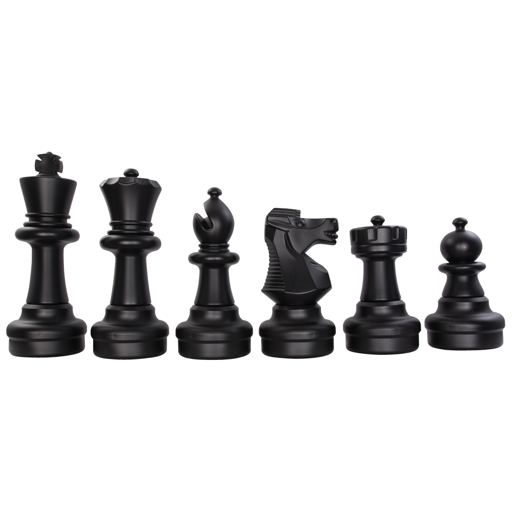 MegaChess 25 Inch Plastic Light-up LED Giant Chess Set  One Side LED and One Side Black |  | GiantChessUSA
