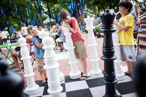 MegaChess 49 Inch Plastic Giant Chess Set with Plastic Board | Default Title | GiantChessUSA