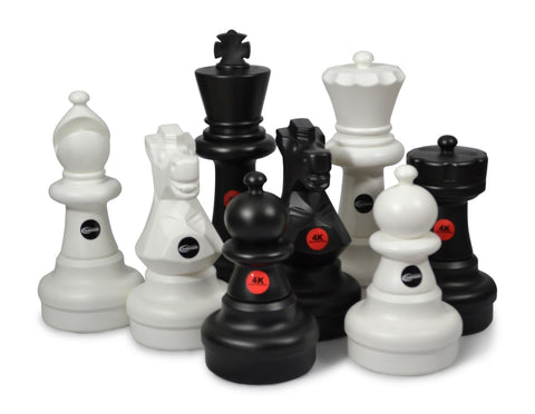 MegaChess Custom 25 Inch Plastic Giant Chess Set |  | GiantChessUSA