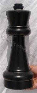 MegaChess 12 Inch Dark Plastic King Giant Chess Piece |  | GiantChessUSA