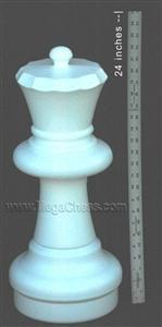 MegaChess 23 Inch Light Plastic Queen Giant Chess Piece |  | GiantChessUSA