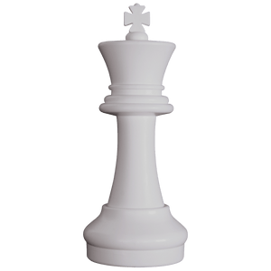MegaChess 16 Inch Light Plastic King Giant Chess Piece |  | GiantChessUSA