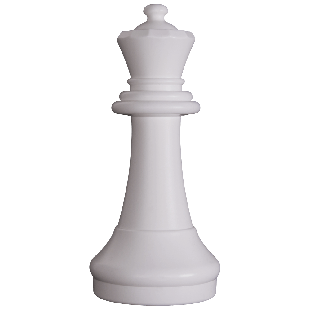 MegaChess 15 Inch Light Plastic Queen Giant Chess Piece |  | GiantChessUSA