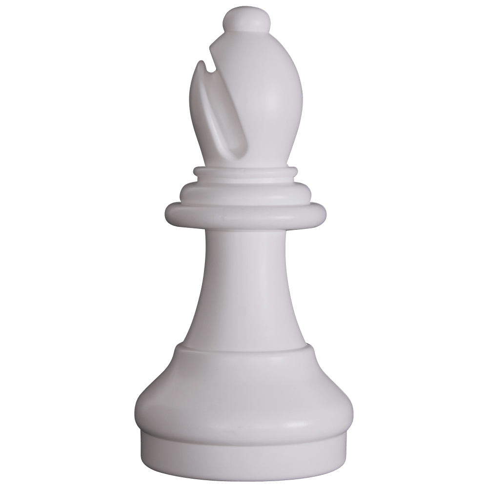 MegaChess 13 Inch Light Plastic Bishop Giant Chess Piece |  | GiantChessUSA