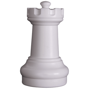 MegaChess 10 Inch Light Plastic Rook Giant Chess Piece |  | GiantChessUSA