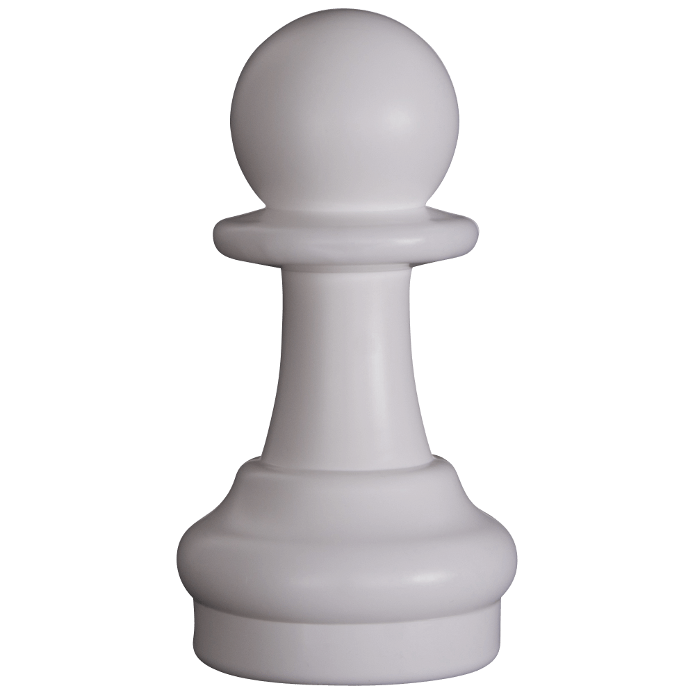 MegaChess 9 Inch Light Plastic Pawn Giant Chess Piece |  | GiantChessUSA