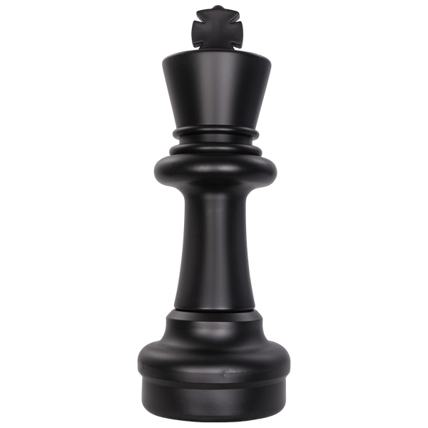 MegaChess 25 Inch Dark Plastic King Giant Chess Piece |  | GiantChessUSA