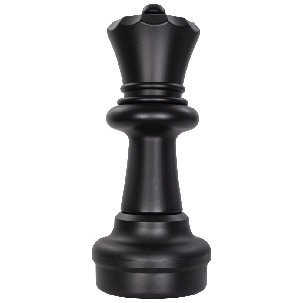 MegaChess 23 Inch Dark Plastic Queen Giant Chess Piece |  | GiantChessUSA
