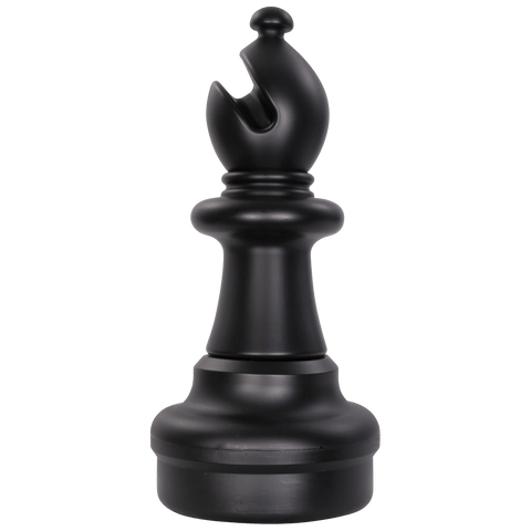 MegaChess 21 Inch Dark Plastic Bishop Giant Chess Piece |  | GiantChessUSA