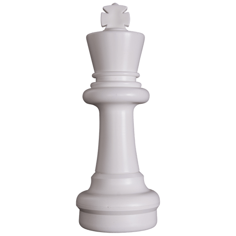MegaChess 25 Inch Light Plastic King Giant Chess Piece |  | GiantChessUSA